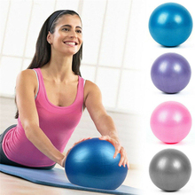 25cm Yoga Ball Exercise Gymnastic Fitness Pilates Ball Balance Exercise Gym Fitness Yoga Core Ball Indoor Training Yoga Ball mini play ball physical fitness ball for fitness appliance exercise wobble stability balance balls indoor ourdoor toys for kids
