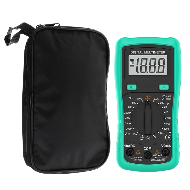 2019 New Multimeter Black Colth Bag 20*12*4cm UT Durable Waterproof Shockproof Soft Case Multimeter Holder