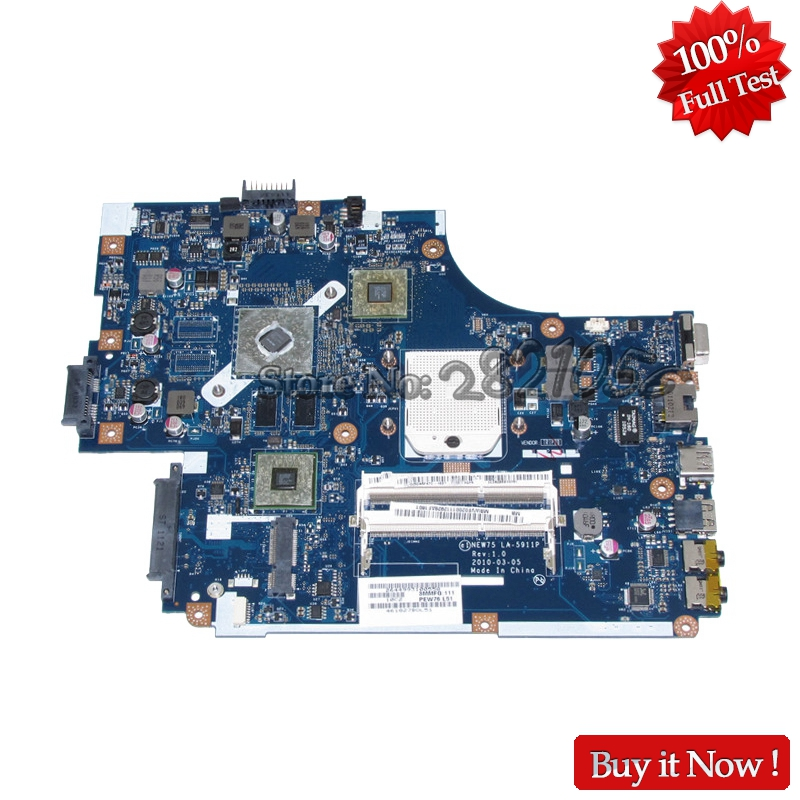 NOKOTION MBWVE02001 MB.WVE02.001 NEW75 LA-5911P For Acer Aspire 5552 5552g Laptop Motherboard DDR3 HD6470M Free CPU