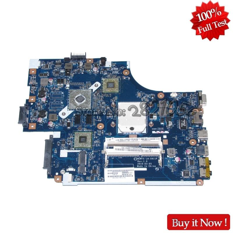 NOKOTION MBWVE02001 MB.WVE02.001 NEW75 LA 5911P For Acer aspire 5552 5552g Laptop Motherboard DDR3 HD6470M Free CPU