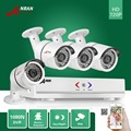 ANRAN Surveillance 4CH HD 1800N AHD DVR 1800TVL 720P 36IR Day Night Outdoor Waterproof Video Security Camera Home CCTV System