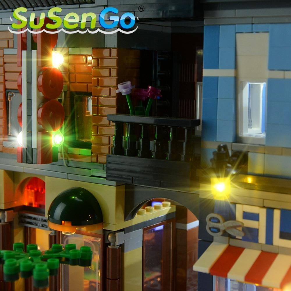 Kit d'éclairage SuSenGo LED pour l'ensemble d'éclairage de bureau - Concepteurs et jouets de construction - Photo 2