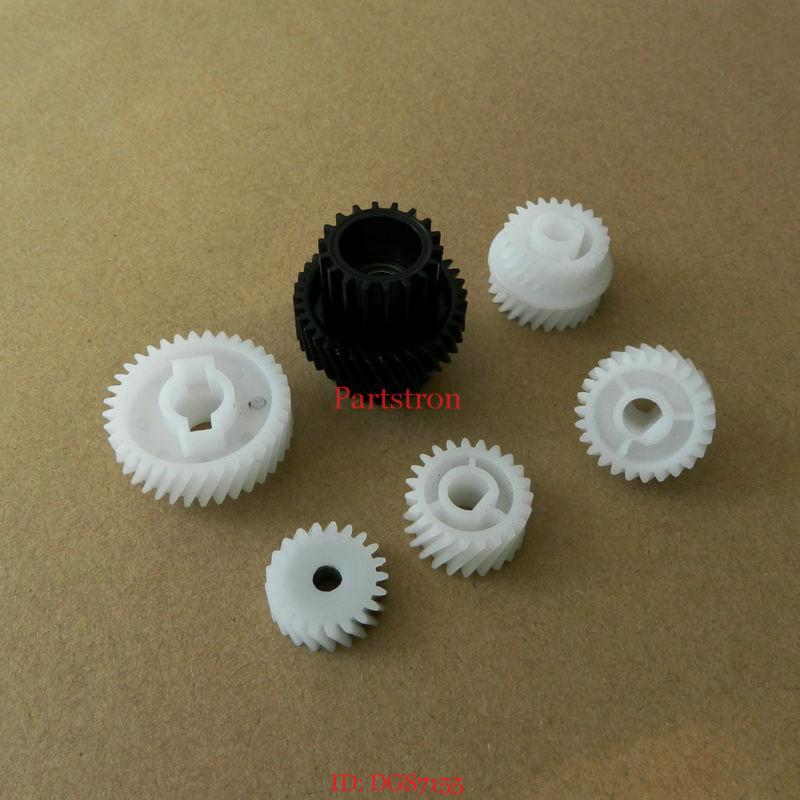 10Set Develop Gear 6 Pieces Set for Konica Minolta 7155 7165 7255 7272 Bizhub 600 601