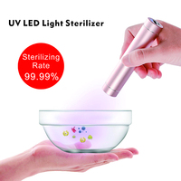 Lumiwell DUV UVC UV LED flashlight Health Light sterilizer disinfection dr. finsen ultra violet torch portable power bank