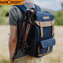 K&F CONCEPT Camera Backpack Multi-functional+Large Capacity Hold 1 Camera+Multiple Lenses+Flashlight+Small Items for Camera