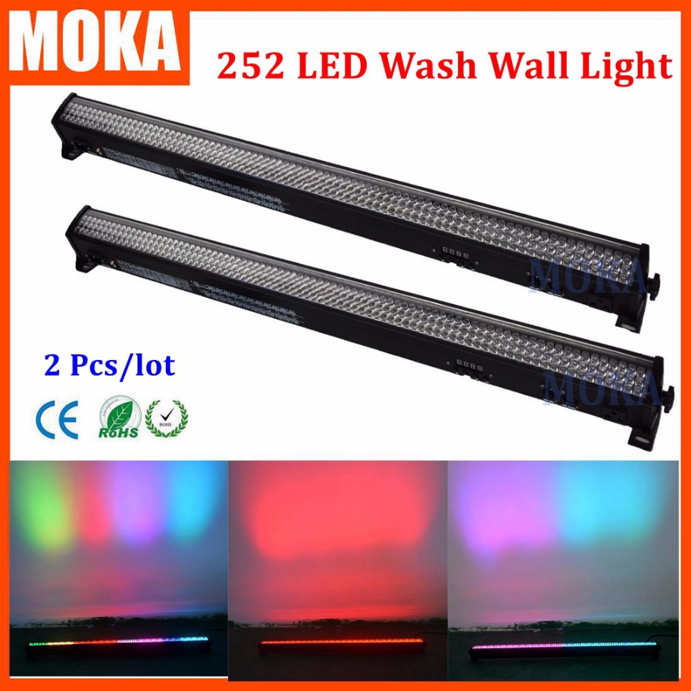 2 pcs/lot wall wash led par light RGB 3 in1 wall wash led washer lighting stage Line bar Outdoor DMX512 master-slave control