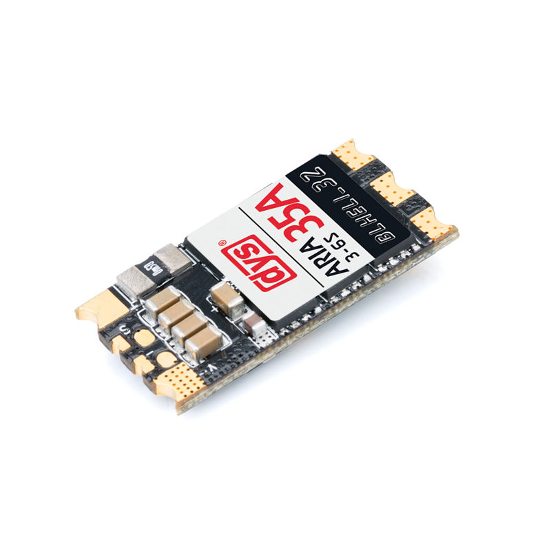 Original DYS Aria BLHeli_32bit 35A 35amp Brushless ESC 3S-6S Dshot1200 Ready Built-in Current Meter Sensor For RC Multicopter 565 aria red