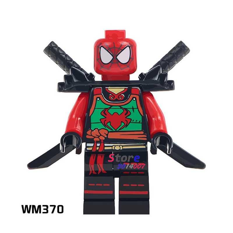 1 قطعة نموذج اللبنات عمل الخارقين سبايدرمان Deadpool جمع DC diy لعب للأطفال هدية