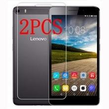 "2PCS Original กระจกนิรภัยสำหรับ Lenovo PHAB PLUS Screen Protector ป้องกันฟิล์มสำหรับ PHAB PLUS 6.8 ""แก้ว"
