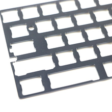 YUMO Aluminum alloy plate dz60 plate for DIY mechanical keyboard Stainless steel plate gh60 25 50 200mm aluminum alloy 6061 plate aluminium sheet diy material free shipping