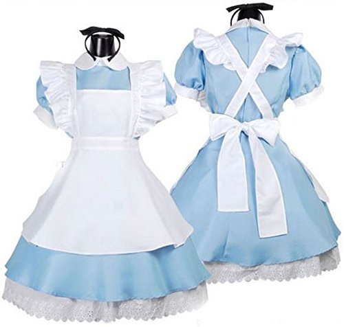 Transport gratuit Hot Sell Alice în Țara Minunilor Costum Lolita - Costume carnaval
