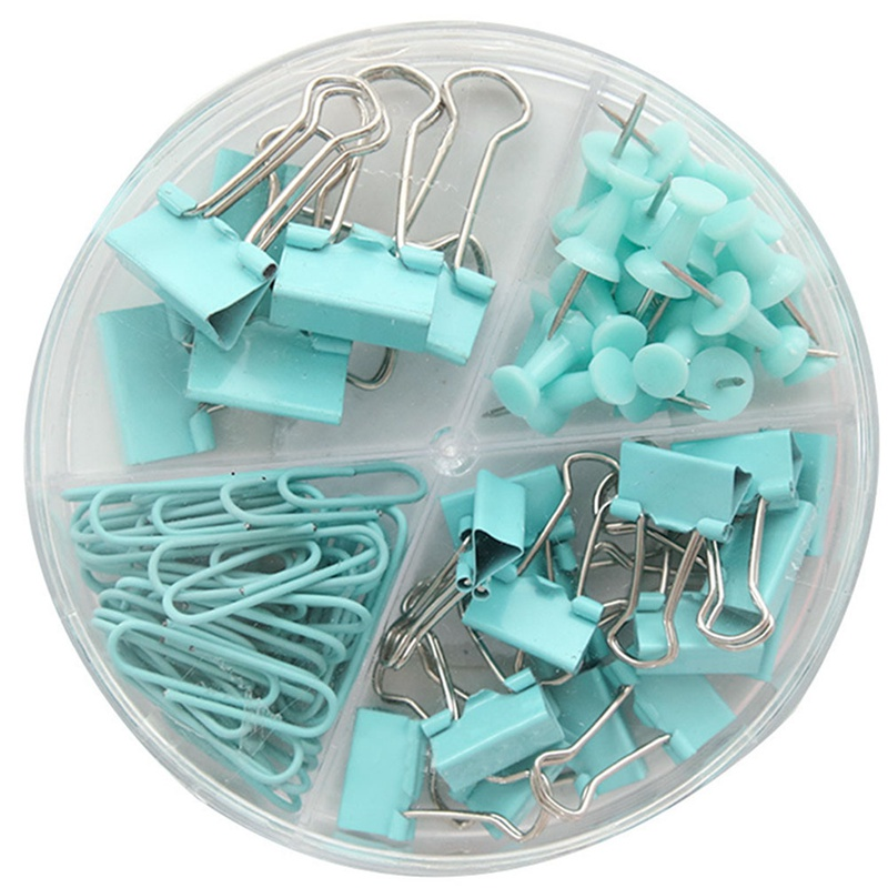 72pcs / Set Of Colorful Ticket Holder Paper Clips  Notes Clips Children'S Student Stationery School Office Supplies