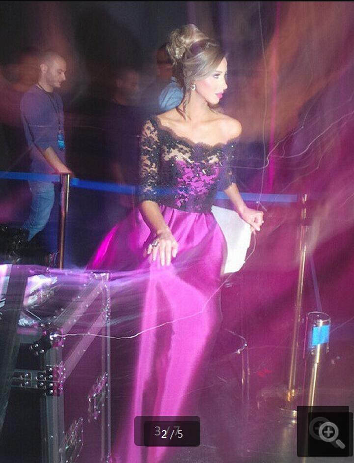 Atractivo Desgaste Del Partido Del Vestido Negro Patrón - Vestido de ...