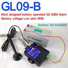 แบตเตอรี่ดำเนินการ GL09 B 3G GSM SMS Alert Wireless alarm Home และอุตสาหกรรม burglar security alarm