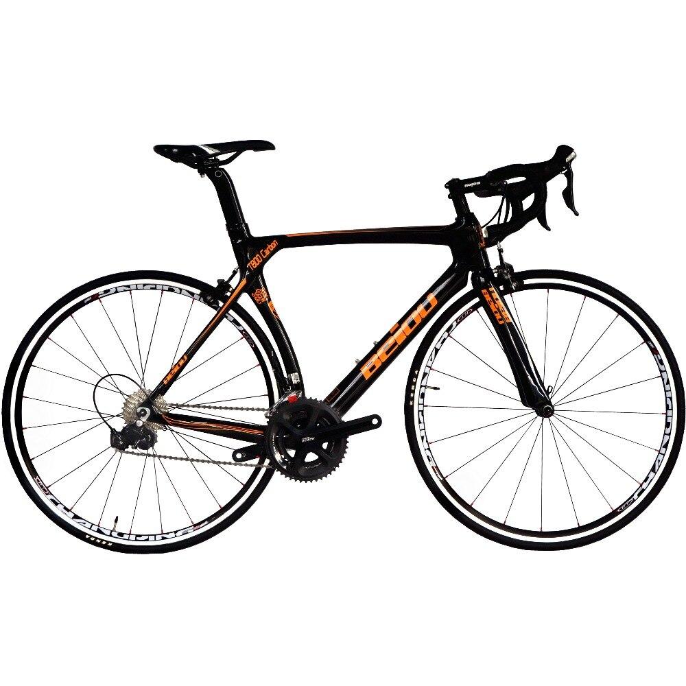BEIOU vélo de route en carbone 700C S h i m a n o 105 5800 22 S vélo de course 500mm 520mm 540mm 560mm Ultra-léger 18.3lbs CB013A3