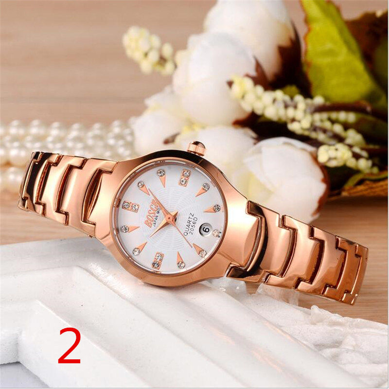 New fashion watch stainless steel neutral leisure luxury business watch. 81 2018 new fashion stainless steel belt simple leisure luxury business watch