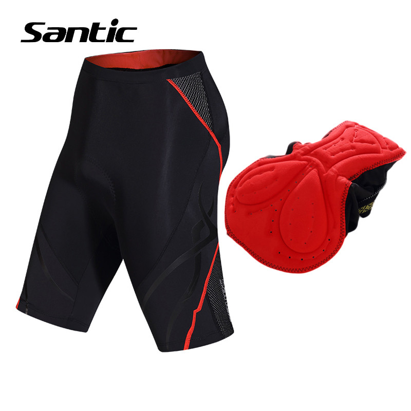 Santic Women Cycling Shorts Summer Breathable MTB Road Bike Shorts Padded Comfortable Bicycle Short Pants 2018 Bermuda Ciclismo women s cycling shorts cycling mountain bike cycling equipment female spring autumn breathable wicking silicone skirt
