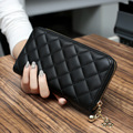 Hot Sale New Luxury Quilted Long Women Wallets Purse Bag Wallet Women Coin Bag Clutch Long Wallet Cell Phone Bag N083