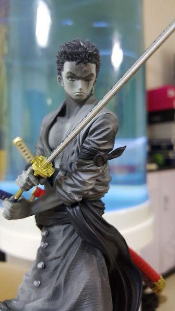 One Piece Action Figure Roronoa Zoro Anime Figure 15cm PVC