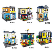Interesting children s toy blocks compatible with Legoes bricks building assembly models children s toy blocks