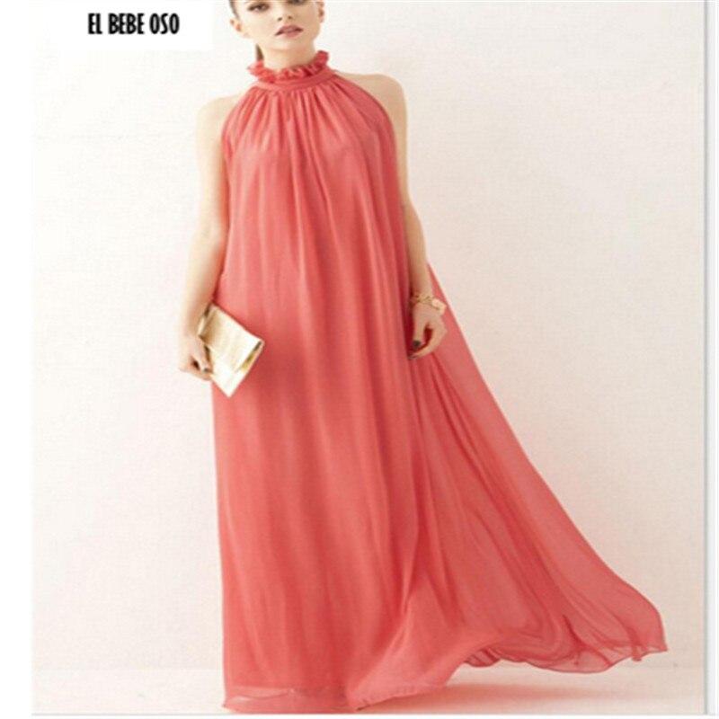 EL BEBE OSO Heißer Sommer Mutterschaft Kleider Formale Chiffon Böhmischen Langes Kleid Kleidung Für Schwangere Sexy Maxi Abendkleid