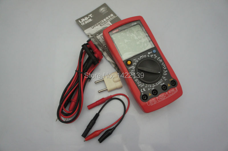 UNI-T UT58D DMM AC/DC Modern Digital Multimeters Large LCD  цены