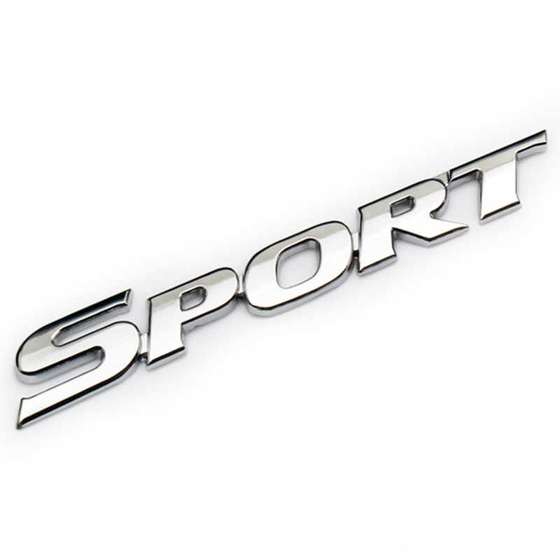 Logo emblème de Sport autocollant de style de voiture accessoires de voiture pour Honda Toyota Audi BMW VW KIA Ford Golf Nissan Benz