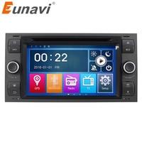 Eunavi 7'' 2 Din Car DVD Player For Ford Focus Galaxy Fiesta S Max C Max Fusion Transit Kuga In dash GPS Navi Radio Stereo