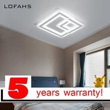 LOFAHS Современная высокая яркость светодио дный потолочные светильники для жизни столовая кровать с удаленным Роскошные потолочный светильник fixtur