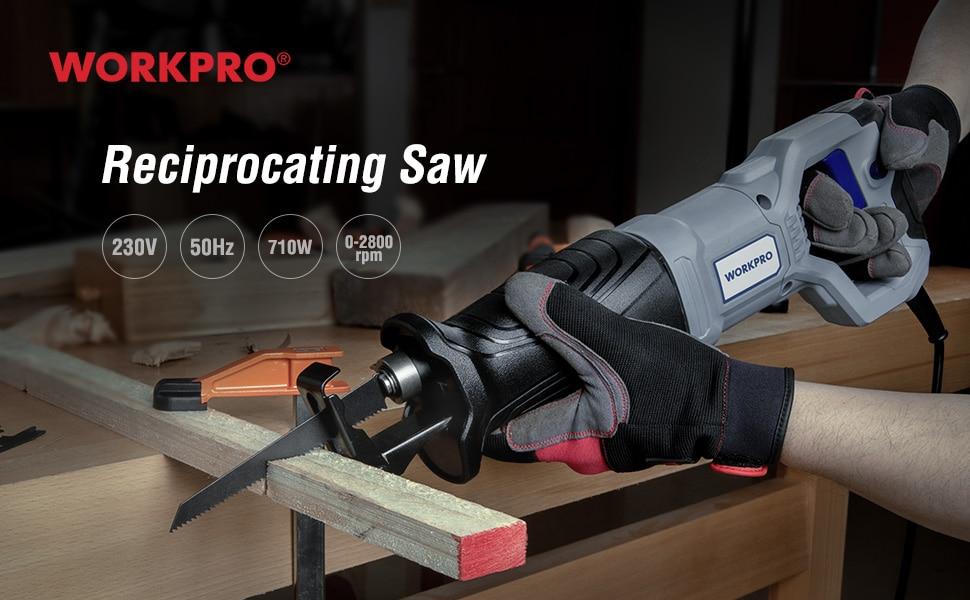 WORKPRO Reciprocating Saw