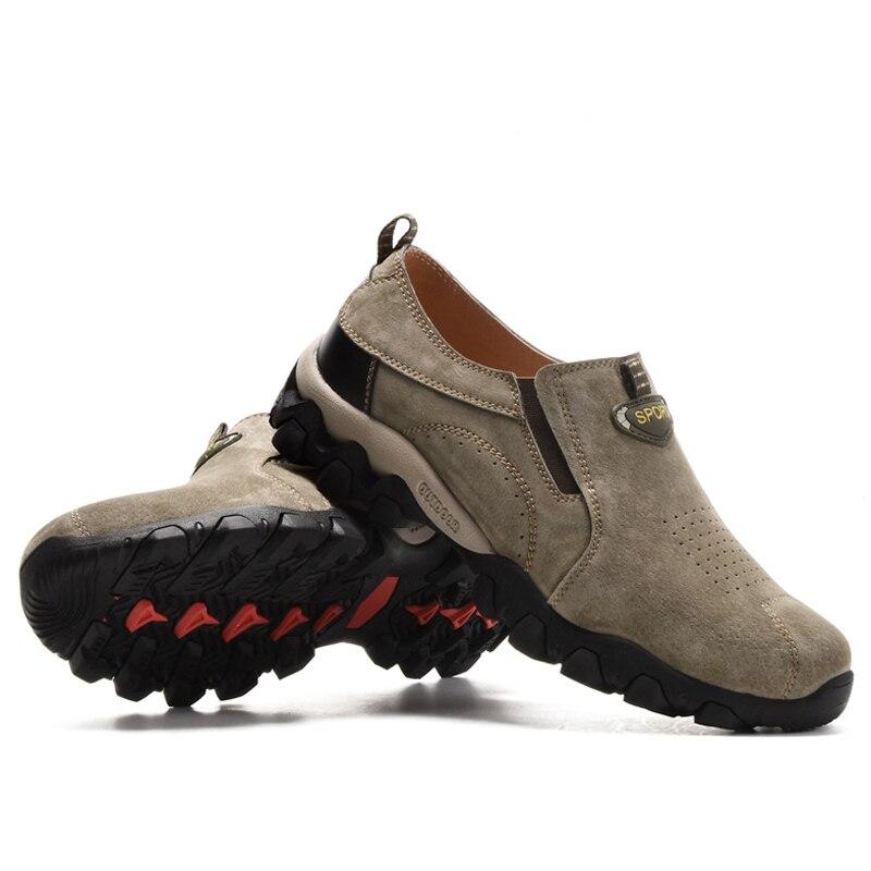 2017 Nuevos hombres de calidad Superior zapatos de Primavera y Otoño antidesliza
