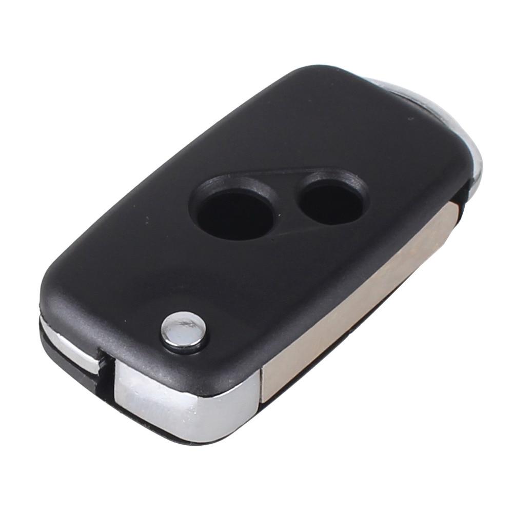 Chiave Telecomando per Honda CRV Accord Uncut Modify 2B Folding Flip Remote Key Shell Case Fob 1