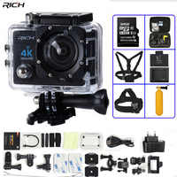 Action Camera 4K Ultra HD WIFI 1080P/30fps 2.0 LCD 170 Lens Diving Waterproof 30M DV go Helmet Cam pro Sports Camera