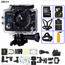 цена на Action Camera 4K Ultra HD WIFI 1080P/30fps 2.0 LCD 170 Lens Diving Waterproof 30M DV go Helmet Cam pro Sports Camera