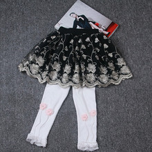Kids Baby Girl Tutu Skirt Embroidery Floral Fluffy Skirts For Children 2018 Summer Girl Clothes Princess Party Tulle Skirt 2-6Y dfxd kids girl clothes 2018 spring summer toddler girls skirts black lace ne yarn princess tutu skirts children fashion skirt