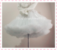 Free Shipping 2015 Ball Gown Underskirt Swing Short Dress Petticoat Lolita Petticoat Ballet Tutu Skirt Rockabilly
