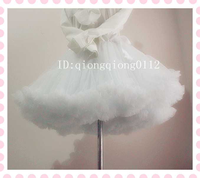 Free Shipping Ball Gown Underskirt Swing Short Dress Petticoat ,Lolita Petticoat Ballet Tutu Skirt Rockabilly Crinoline
