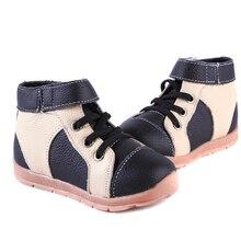 Обувь для мальчиков из натуральной кожи; Бархатные Высокие кроссовки; темно-синий, черный и коричневый цвет; для ранней весны и глубокой осени, ранней зимы