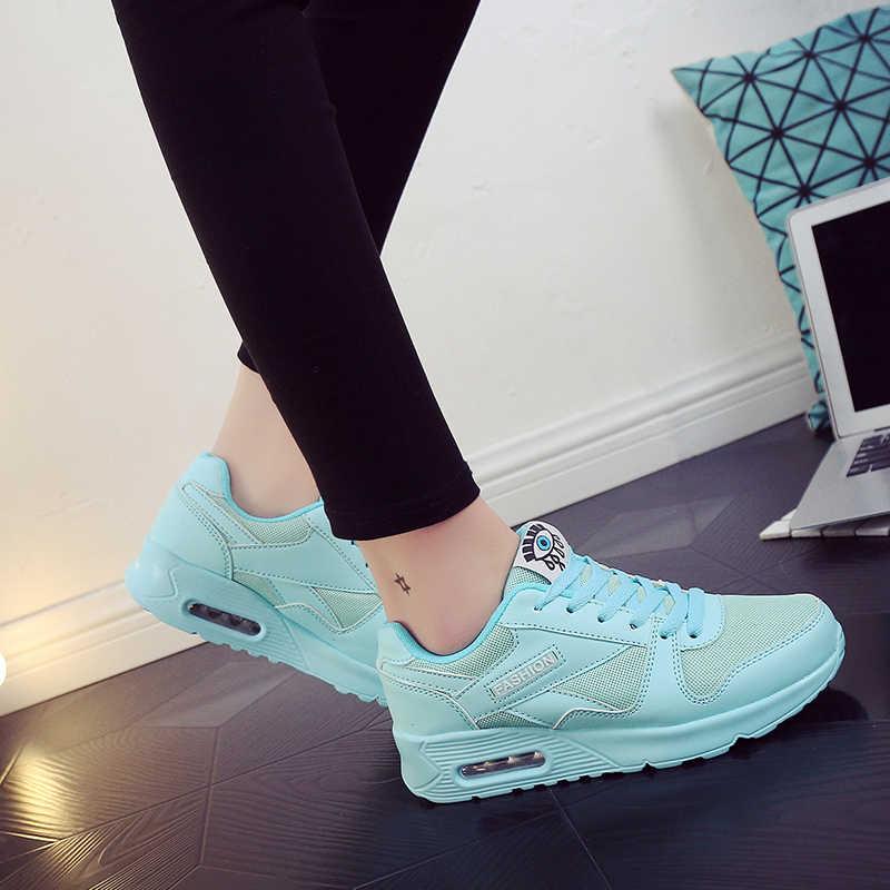 Flache Frauen Schuhe Casual Turnschuhe Mesh Damen Schuhe Flach Mode Komfortable Plattform Schuhe Frauen Große Größe 2019 Neue