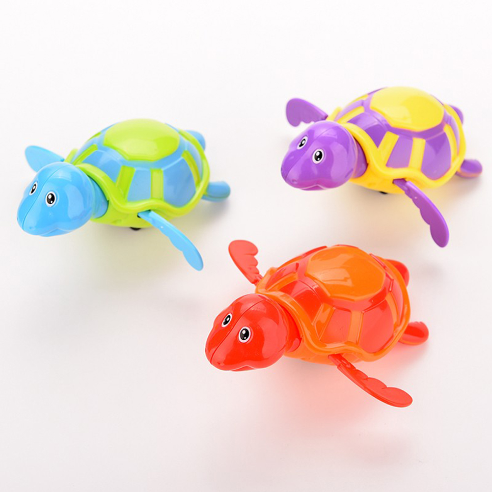 Bath Toy Toys & Hobbies New Arrival Born Babies Swim Turtle Wound-up Chain Small Animal Baby Children Bath Toy Classic Toys