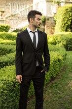 New Custom Made Men's  Wedding Suits Slim Fit Tuxedo Men Business Suits Formal Business Suit Blazer  ( Jacket+Pants+Tie )