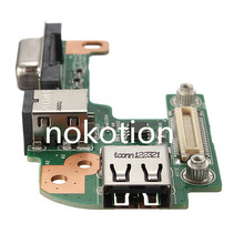 For DC AC Power Jack Port VGA USB IO Board PFYC8 For DELL For INSPIRON 15R M5110 N5110