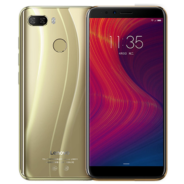 Lenovo K5 Play 3GB RAM 32GB ROM 4G LTE Mobile Phone 5.7'' Snapdragon MSM8937 Octa Core Rear Camera 13MP+2MP Front Camera 8MP 3