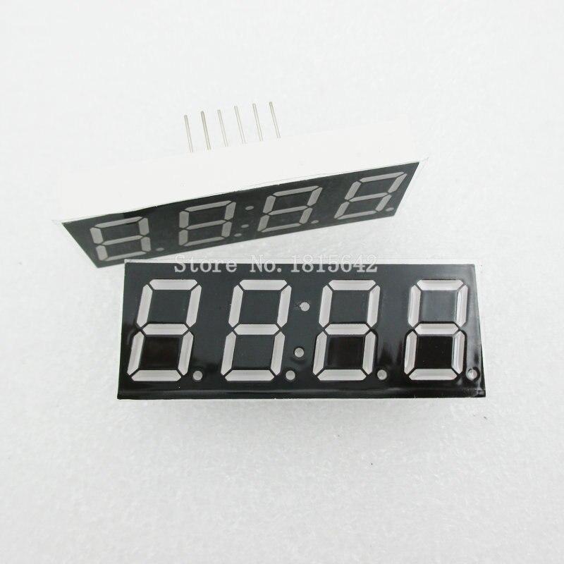 5 pz/lotto Anodo Comune 4bit 4 bit Tubo Digitale 0.56 pollici Rosso Con Orologio Digit 7 Segmenti (OROLOGIO)