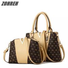 New Composite Women Bag Bolsa Feminina Women Shoulder Bag Luxury Handbags  Women Messenger Bags Causal Totes c2389a2a84d8