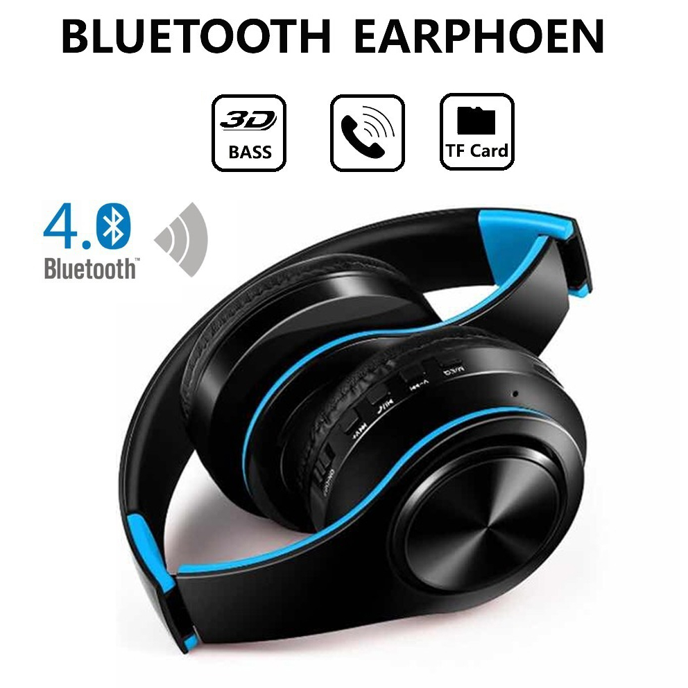 Bluetooth Headset As Wireless Mic: YEINDBOO Fashion Wireless Headphones Bluetooth Headset Headphone Earbuds Earphones With