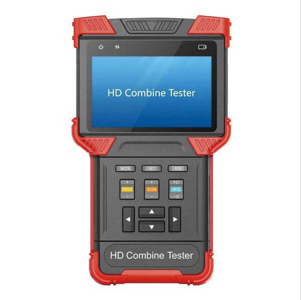 4 inch CCTV IP &TVI camera tester, multifunction CCTV ip camera tester, cctv HD TVI camera tester