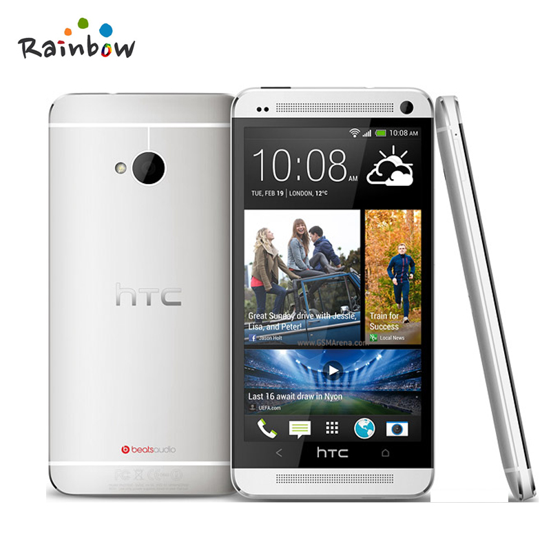 HTC One M7 Unlocked Cell Phone With GPS WIFI 4.7 ''TouchScreen 4MP Camera 32 GB