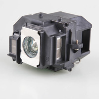 Free Shipping Projector Lamp ELPLP58 For Epson EB S9 EB S92 EB W10 EB W9 EB
