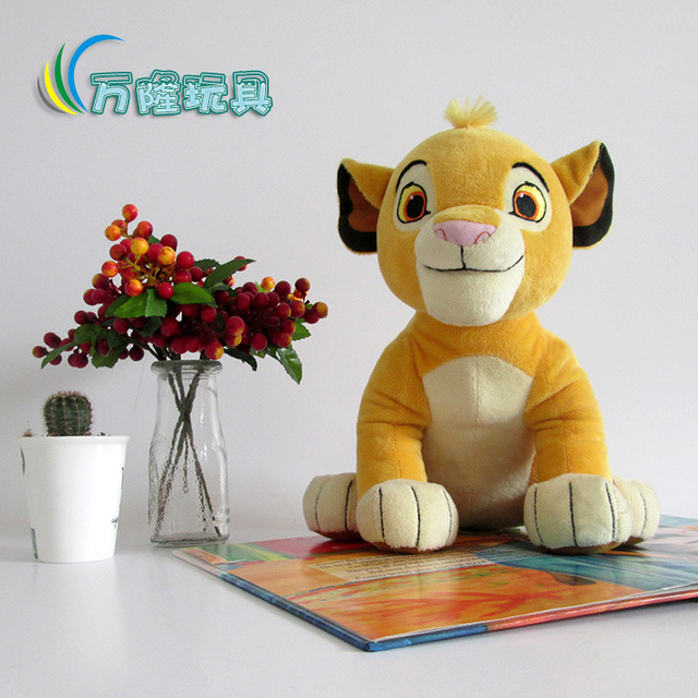 26 см король лев симба плюшевые игрушки куклы чучело
